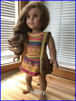 American Girl doll Lea Clark Girl of the Year Retired with lots of Accessories