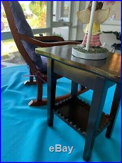 American Girl doll rocking chair and table set