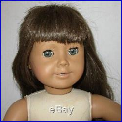 American Girl doll white body Molly Pleasant Company early version brown hair