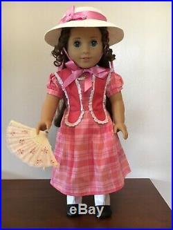 American girl 18 inch Doll Marie Grace retired Exc. Condition withaccessories hat