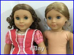 American girl 18 inch Doll lot retired Elizabeth + Marie Grace +Truly Me 27 USED