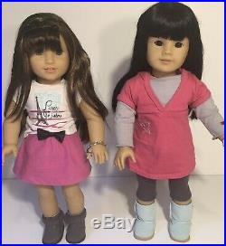 American girl doll JLY#4 And Grace Thomas Lot(Read)