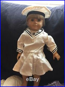 American girl doll Kirsten and accessories used