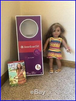 American girl doll Lea Clark lot