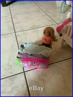 American girl doll With bed and accessories. (used) Truly Me
