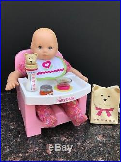 American girl doll bitty baby with accessories