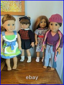 American girl doll lot Retired Molly Emily Marisol