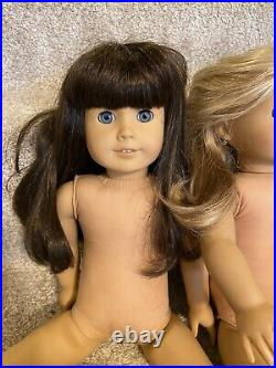 American girl doll lot of dolls