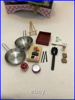 American girl doll lot of dolls and accessories used