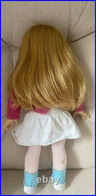 American girl doll of the year 2008, Mia. RETIRED. In beautiful condition