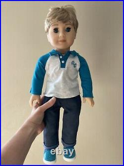 American girl doll truly me 74 blonde hair blue eyes boy
