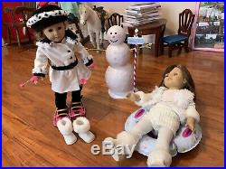 American girl doll used
