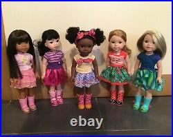 American girl doll welly wishers collection