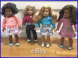 American girl dolls Lot