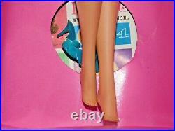 Barbie VINTAGE Pale Blonde BEND LEG AMERICAN GIRL BARBIE Doll withBOX & CELLO