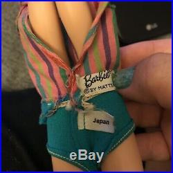 Barbie Vintage 1070 Blonde American Girl Bendable Leg Doll 1965-67