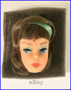 Barbie doll American Girl Side-Part Head only Vintage 1965 FreeShipping