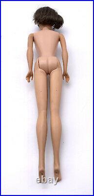 Beautiful Vintage Brunette American Girl Barbie Doll Original Swimsuit