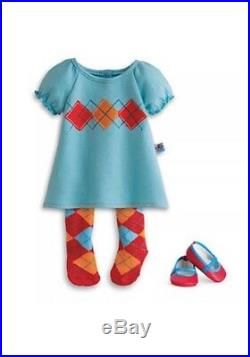 Blonde Bitty Baby Twins Boy/Girl With Argyle Outfits And Box American Girl T2