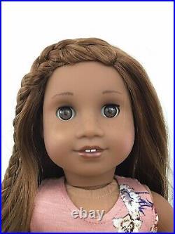 Bria Custom OOAK American Girl Doll Tenney Light Brown Eyes Auburn Hair Sonali