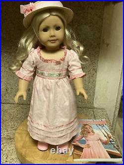 Caroline Abbott American Girl Doll RETIRED beautiful hair and clean