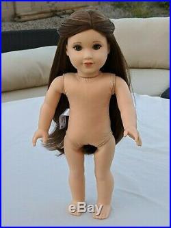 Custom American Girl Blaire Doll OOAK (brown hair, green eyes)