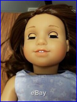 Custom American Girl Doll Rebecca, brown hair, green eyes