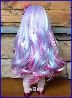 Custom Kaya American Girl Doll OOAK Pastel Party Painted Eyelids Outfit Inc