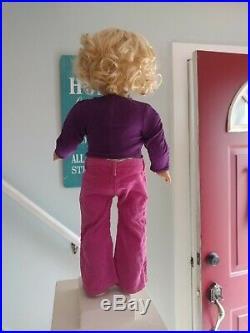 Custom OOAK American Girl Doll 18 Doll AG Blue eyes, Blonde Hair, NO RESERVE