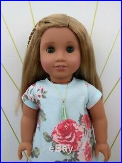 Danielle Custom OOAK American Girl Doll JLY 62 Green Eyes Sonali Blonde Hair