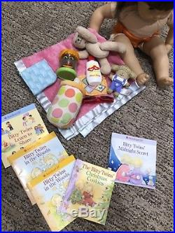 EUC American Girl Bitty Baby & Twins Boy And Girl With Clothes And Accessories