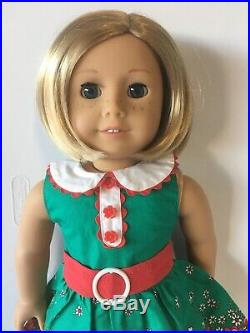EUC American Girl Doll Kit Kittredge Doll and Clothes Outfit Lot