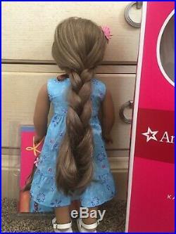 EUC American Girl GOTY Doll Kanani Akina Retired Hawaiian Lot Box Accessories