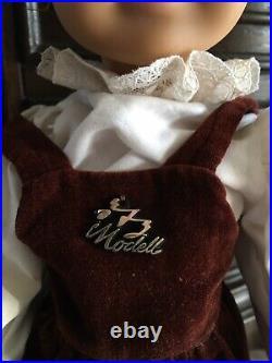Extreamly Rare Gotz Romino 01 Doll Pre American Girl Phototype