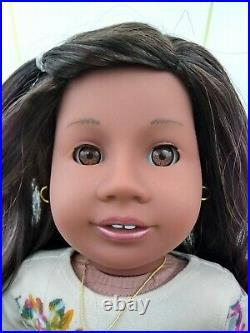 Faith Custom OOAK African American Girl Doll Tenney Brown Eyes Nanea Wig Addy