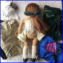 Felicity Doll & Penny Horse, 9 outfits, American Girl Lot, Pleasant Company, VG