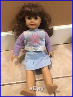 Four American Girl Dolls in good condition