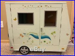 Gently used American Girl Lanie's Camper retired 2010