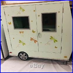 Gently used American Girl Lanie's Camper retired 2010 LOCAL PICK UP