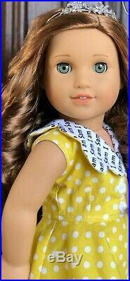 Gorgeous Custom American Girl Rebecca Doll OOAK Caroline Eyes