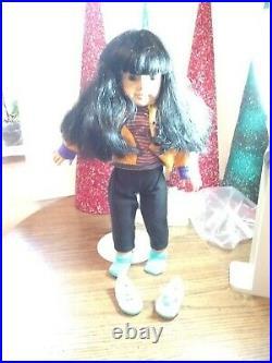 HTF American Girl Pleasant Company Doll Just Like You #4 Black Hair Asian