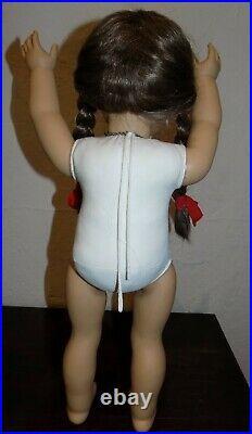 HTF WHITE BODY Pleasant Company Molly American Girl Doll Germany Accessories BOX