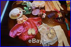 HUGE LOT American Girl Doll-Saige-Caroline-Rebecca-Bitty Baby Plus clothes/acces