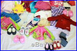 HUGE Lot Of American Girl 18 Doll Clothes Accessories AG PC TOPS PANTS SHOES