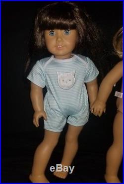 Huge LOT of 4 American Girl Dolls Pleasant Company 18 Needs TLC. READ