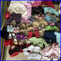 Huge Lot American Girl AUTHENTIC Doll Clothes