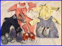 Huge Lot of American Girl bitty baby doll clothes & ASSESORIES