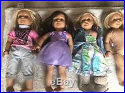 Huge Mixed Lot of American Girl Dolls Clothes & Accessories Sold As Is L@@K