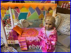 Julie Albright American Girl doll and bed