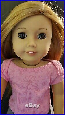 Just Like Me American Girl Doll Lot with Puppy